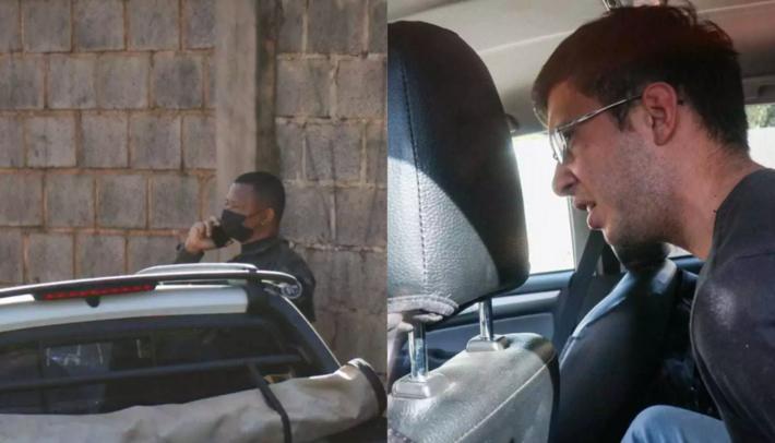 Jonildo está a esquerda e Carlos à direita.  A foto de fotojornalista Henrique Kawaminami, do site Campo Grande News.