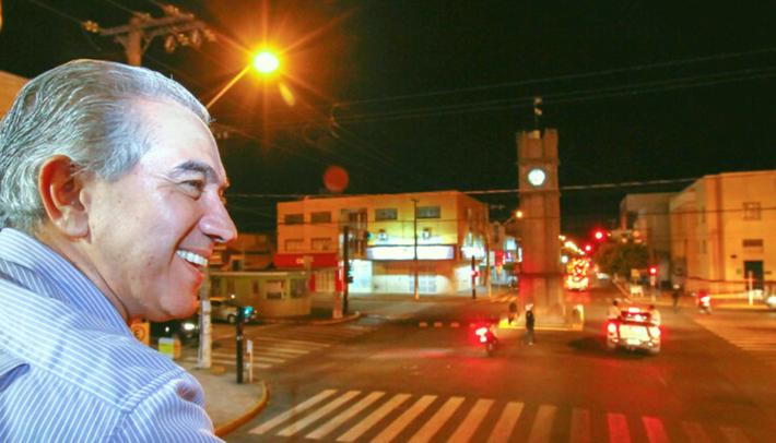 Este é Reinaldo Azambuja (PSDB), em visita à Três Lagoas (MS) em 07 e 08.09.18. Foto: Saul Schramm