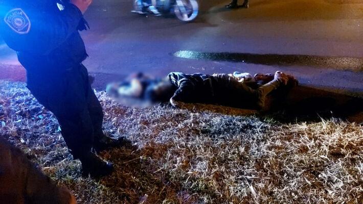 Irmãso foram executados com mais de 30 tiros na fronteira.