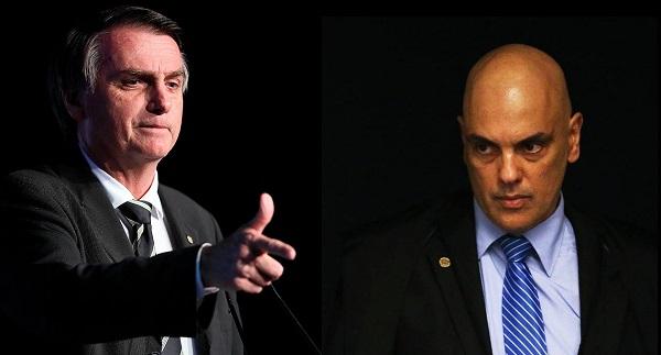 """Para Bolsonaro, o """"antídoto"""" para a ação não está """"dentro das quatro linhas da Constituição""""."""