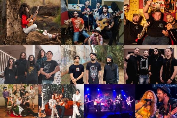 Dez bandas disputam festival aque terá 8h de duração em MS. Foto: Divulgação