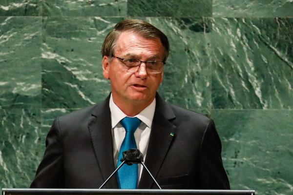 (Nova Iorque - EUA, 21/09/2021) Discurso do Presidente da República Jair Bolsonaro na Abertura do Debate Geral da 76ª Sessão da Assembleia Geral das Nações Unidas (AGNU).  Foto: Alan Santos/PR