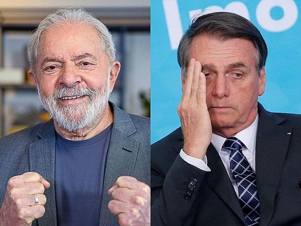 Resultados do DataFolha mostram, ex-presidente tem 56% dos votos contra 31% de intenção para Bolsonaro em 2º turno