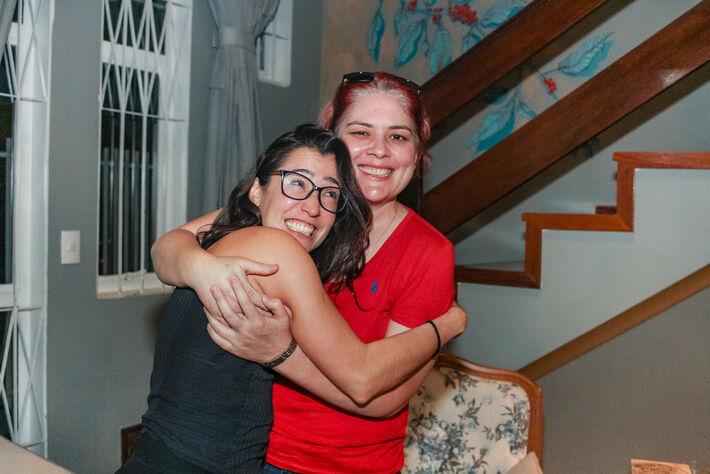 Essas são Ligia Prieto (E) e Kelly Figueiredo. Foto: Tero Queiroz