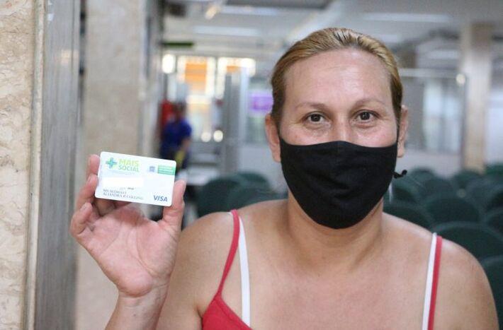 Beneficiários do Programa Mais Social agora são informados, via aplicativo MS Contrata Mais Trabalhador, para retirarem o cartão com crédito de R$ 200,00.