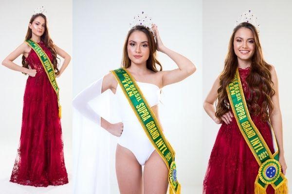 Maria era detentora do título de Teen Mato Grosso do Sul e agora conquista seu primeiro prêmio internacional