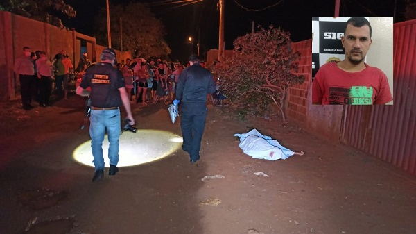 Rogério foi alvejado e atingido por aproximadamente 15 disparos na frente de casa.