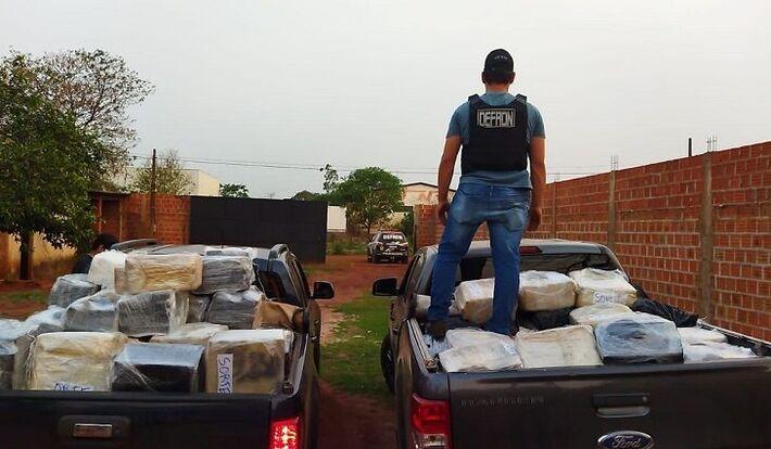 Operação Fronteiras e Divisas Integradas em MS. Foto: Divulgação