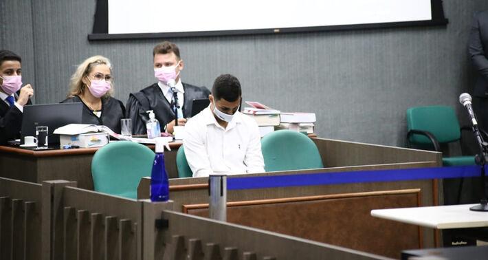Bruno Cezar de Carvalho de Oliveira, 24 anos, foi julgado nesta sexta-feira (24).  Foto: Luciano Muta