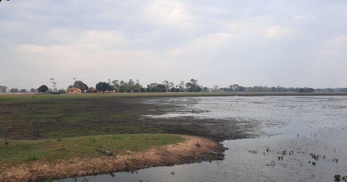 Seca atinge região pantaneira. Foto: Reprodução