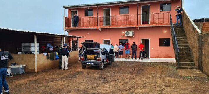 Polícia prendeu grupo suspeito de integrar quadrilha de sicários. Foto: Reprodução