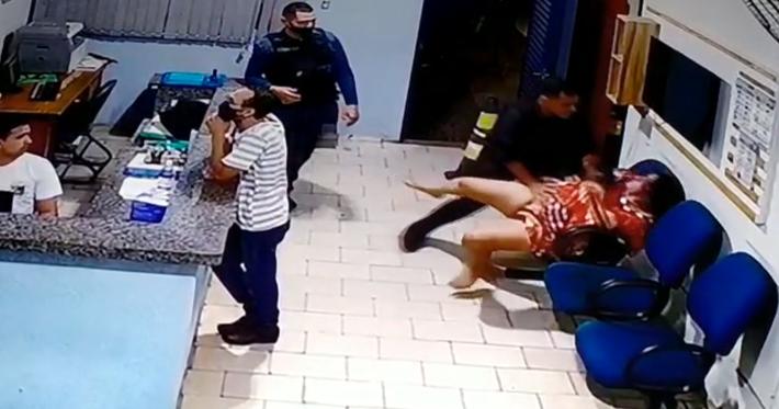 PM de Bodoquena agride mulher a socos dentro do quartel de Bonito-MS. Foto: DR | MS Notícias