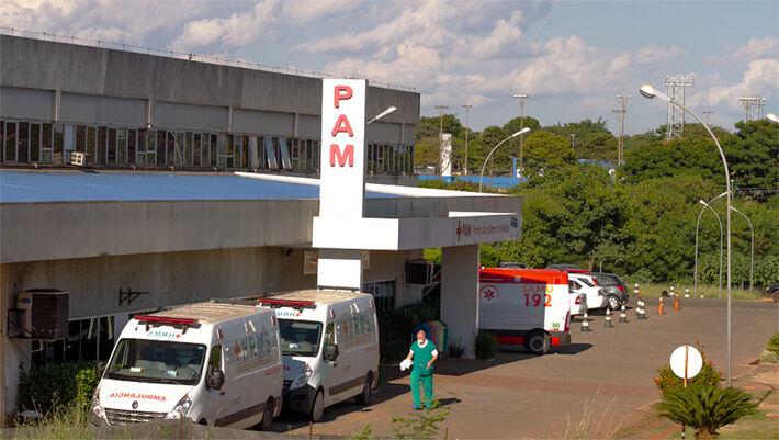 Hospital Regional em Campo Grande, referência em combate a Covid-19. Foto: Tero Queiroz | MS Notícias
