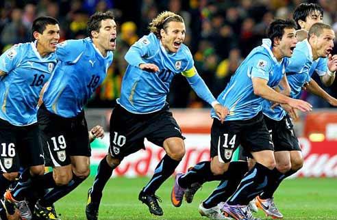 Seleção Uruguaia<br />Foto: Divulgação