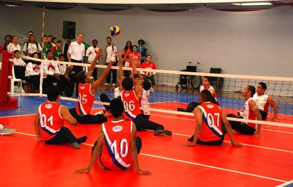 Estudantes paraolímpicos<br />Foto: Divulgação
