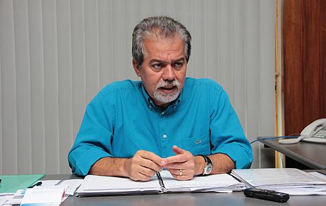 Secretário municipal de infraestrutura, transporte e habitação, Semy Ferraz<br />Foto; Arquivo