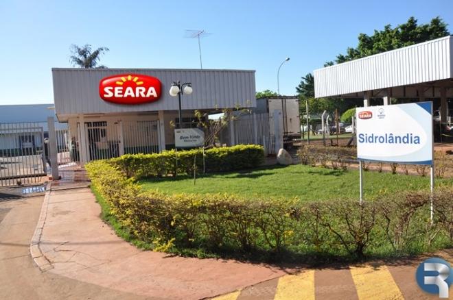 Seara oferece reajuste de 7,89% e trabalhadores decidem quarta-feira se aceitam<br />Foto: Marcos Tomé/Região News