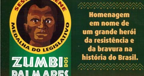 """</p> <p style=""""text-align: justify"""">Diversas personalidades de Campo Grande recebem hoje dos vereadores a medalha legislativa """"Zumbi dos Palmares"""", em comemoração ao Dia Nacional da Consciência Negra, celebrado no Brasil no dia 20 de novembro. O objetivo"""