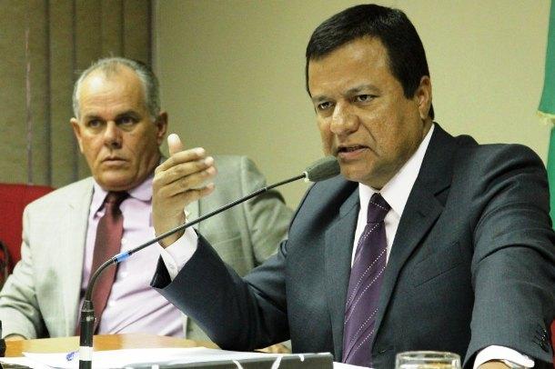 Deputado Amarildo Cruz durante oitiva da CPI da Saúde da Assembleia Legislativa<br />Foto: arquivo