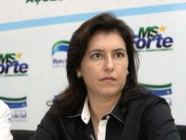 Vice-governadora e candidata ao Senado, Simone Tebet (PMDB) - Foto: Arquivo