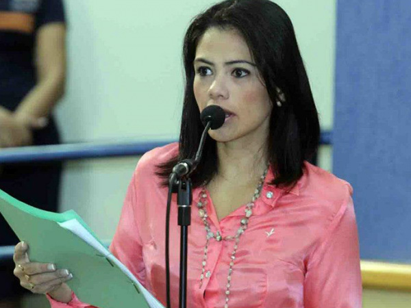 Vereadora Grazielle Machado (PR)<br />Foto: Klemerson Rocha