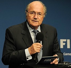 Blatter está preocupado com as elevadas temperaturas<br />Foto: Divulgação