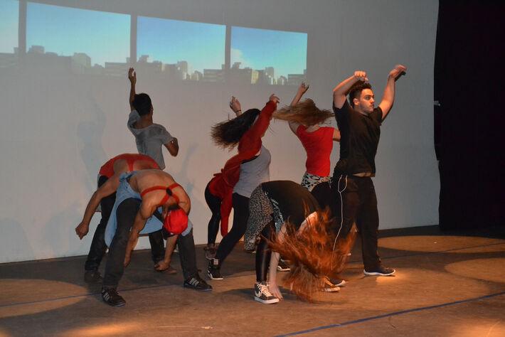 Festival de street dance realizado pelo CenaSom<br />Foto: Divulgação