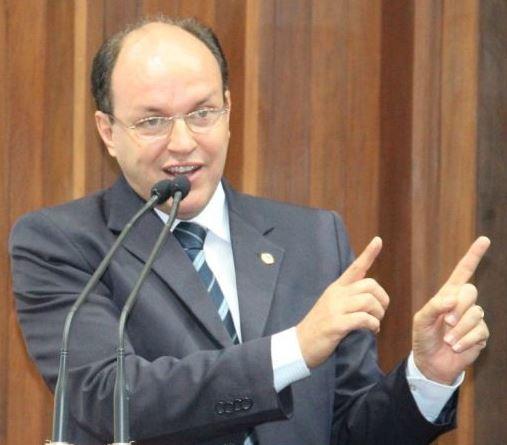 Deputado estadual, Júnio Mochi (PMDB). Foto: Reprodução