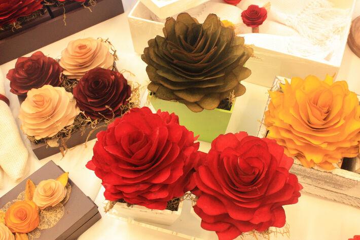 Flor de Xaraes que estará na exposição<br />Foto: Divulgação