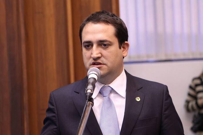 Deputado estadual, Márcio Fernandes (PT do B), relator do projeto.