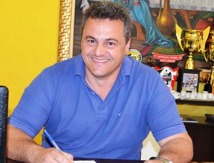 O prefeito de Iguatemi José Roberto Felippe Arcoverde<br />Foto: Divulgação