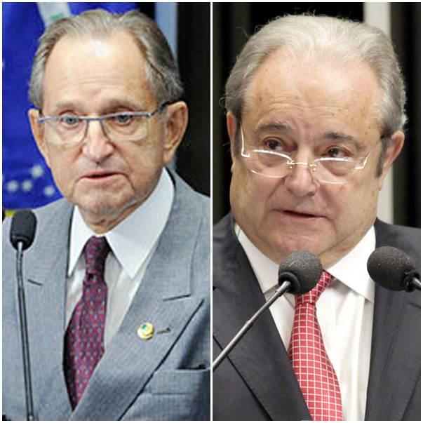 Ruben Figueiró (PSDB) e Antonio Russo (PR)