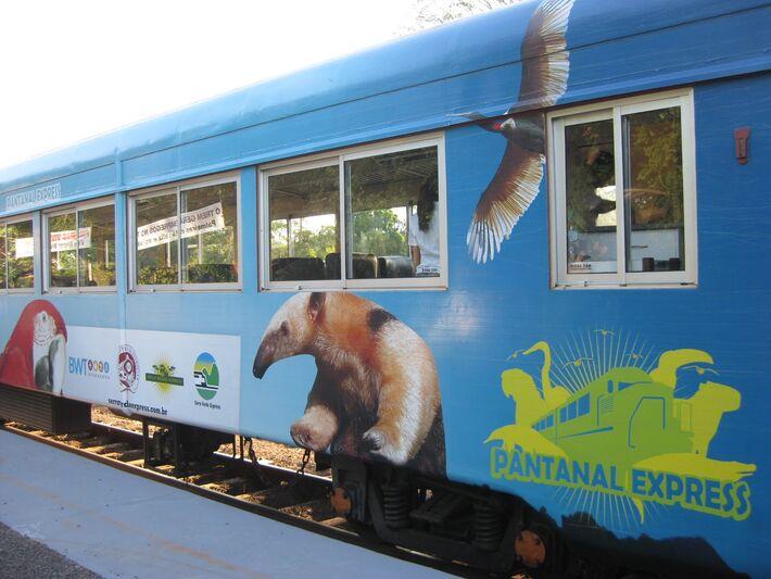 Trem do Pantanal<br />Autor: Divulgação