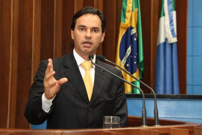 Deputado estadual Marquinhos Trad (PMDB), presidente da CPI da Telefonia<br />Foto: arquivo