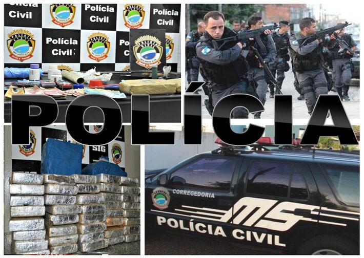 <br />A polícia realizou a pericia no local do acidente e logo em seguida o corpo foi conduzido à delegacia de Terenos.