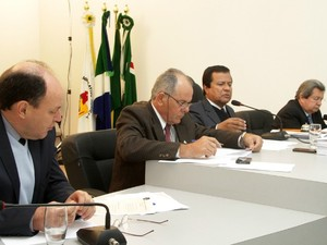 Mesa CPI da Saúde da Assembleia Legislativa<br />Foto: Divulgação