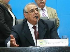 Deputado estadual e presidente da Assembleia Legislativa Jerson Domingos (PMDB)<br />Foto: Marcelo Calazans