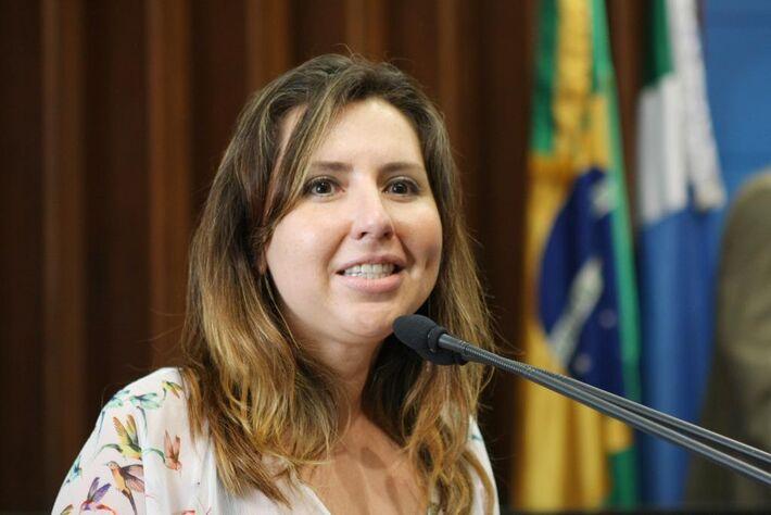 Promotora da Mulher Ana Lara de Castro<br />Autor: Giuliano Lopes