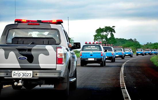 Os objetivos foram prevenir crimes com abordagens feitas em pessoas e em veículos e garantir o respeito à lei seca e ao sossego alheio.