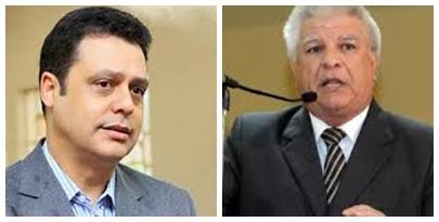 Flávio César (PT do B) e Edil Albuquerque (PMDB)<br />Foto: Divulgação