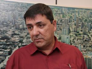 Presidente da FETEMS, Roberto Magno Botareli Cesar.