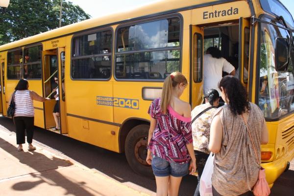 Transporte coletivo de Dourados<br />Foto: Nicanor Coelho