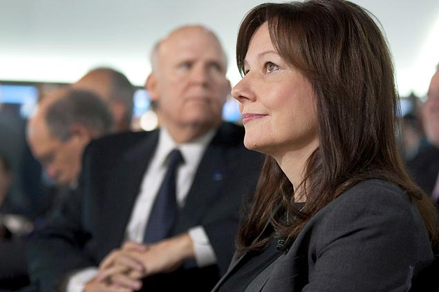 Mary Barra, 51, nova presidente-executiva da General Motors<br />Foto: Divulgação/GM Corp