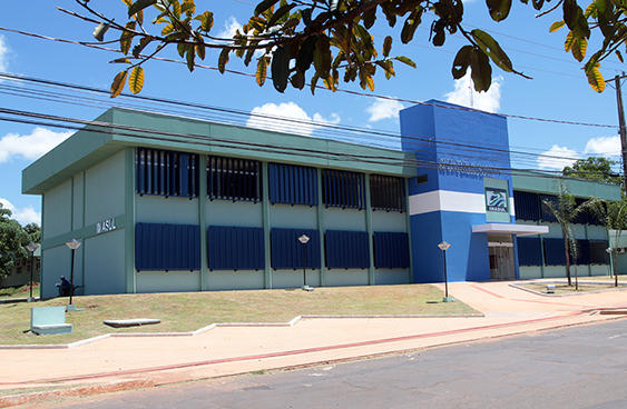 Nova sede do Imasul<br />Foto: Rachid Waqued