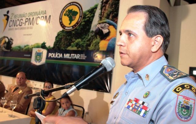 Coronel Carlos Alberto David<br />Foto: PM5