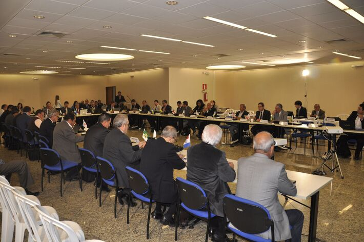Em outubro, Belo Horizonte sediou a 5ª Reunião do Colégio de Presidentes<br />Foto: Divulgação