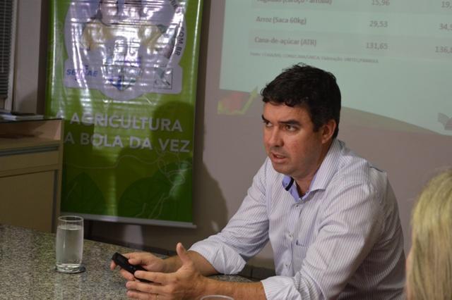 Eduardo Riedel, presidente da Famasul<br />Foto: Assessoria de imprensa sistema Famasul