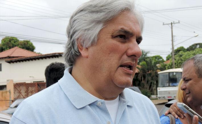 Senador e pré-candidato ao governo do Estado, Delcídio do Amaral (PT)<br />Foto: Arquivo