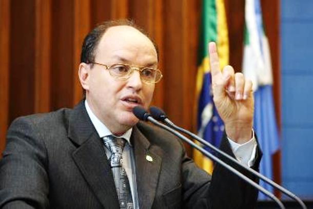 Deputado estadual Junior Mochi (PMDB)<br />Foto: Arquivo