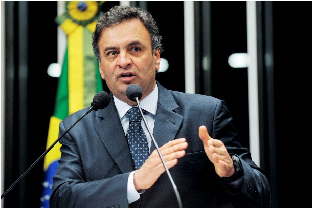 """</p> <p style=""""text-align: justify"""">O senador Aécio Neves (PSDB-MG) decidiu transformar a última reunião do diretório nacional do PSDB de 2013 no pontapé inicial de sua campanha à Presidência da República. O ex-governador de São Paulo José Serra (PSDB),"""